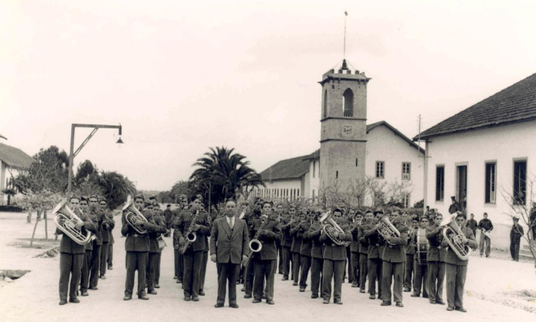 History - Band by clock tower.jpg