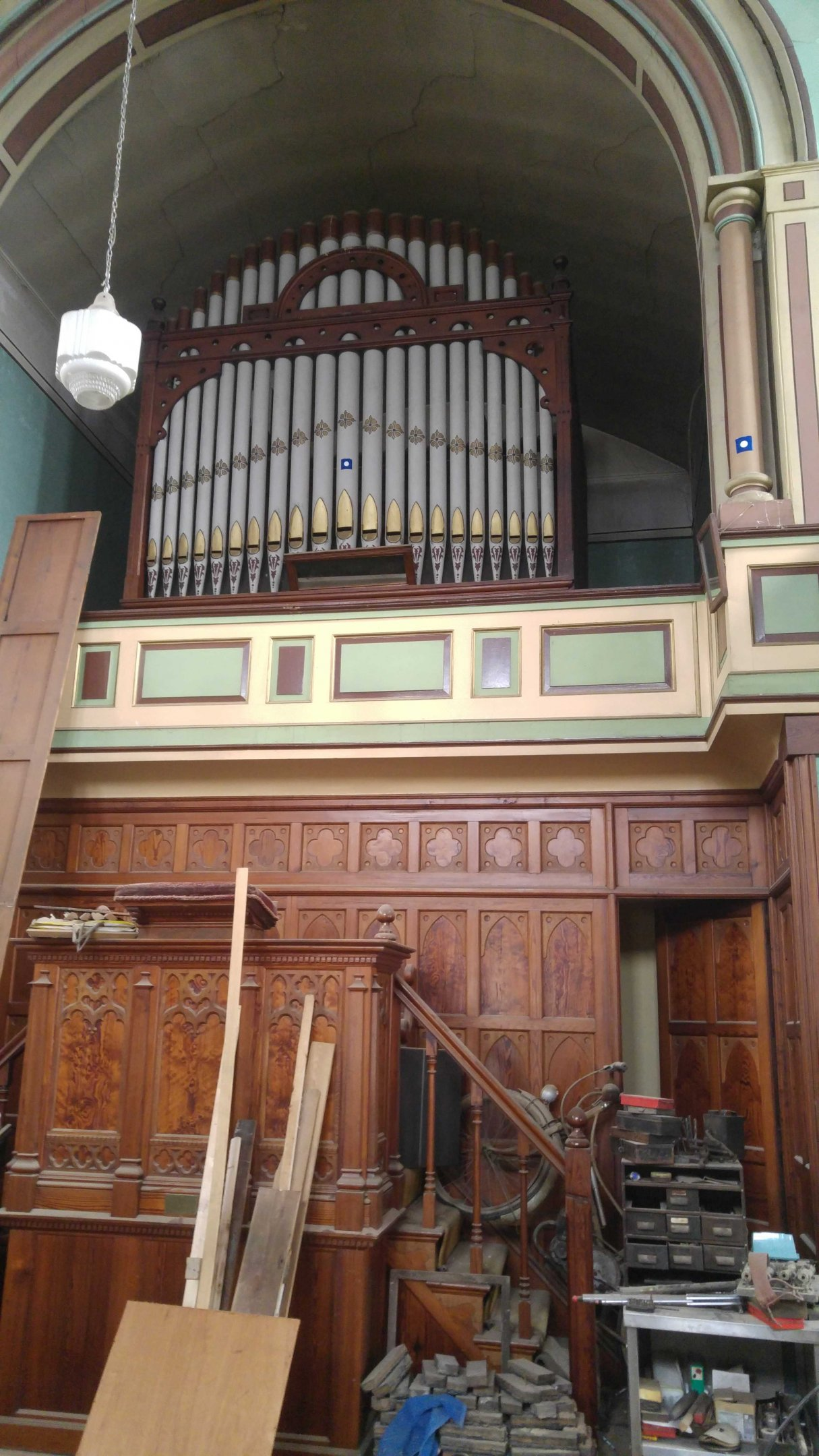 Organ and old bike.jpg